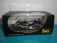 17.09.17.1 Bentley exp speed 8 #7 Le mans 2001 Brundle Ortelli Smith IXO 1/43