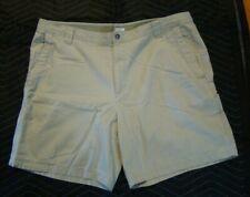 COLUMBIA Men's Shorts Size 44-9 Khaki 112 AX4541 100% Cotton
