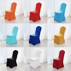 Universal Polyester Strech Spandex Chair Flat Covers Wedding Party Banquet Decor