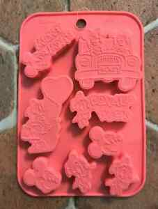 Disney Mickey & Friends Chocolate Silicone Mold Tray Decoration  DIY Craft Drive