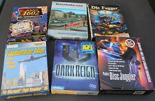 Ca. 18 PC Spiele und Anwendungen