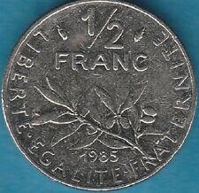 FRANCE 50 CENTS 1985 SEMEUSE