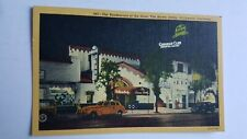Postcard Vintage The Brown Derby Hollywood California