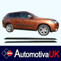 Mitsubishi Outlander Mk3 Side Protection Mouldings Body Kit