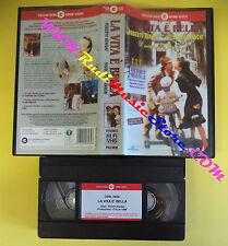 film VHS LA VITA E' BELLA Roberto Benigni Nicoletta Braschi 1998  (F1**) no dvd