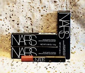 3x~NARS Velvet Matte Lip Pencil~Dolce Vita~3869~Travel Size~0.06oz/1.8g each~NIB