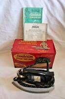 Vintage 1950's Sunbeam Steam/Dry Iron Chrome in Original Box #S5A