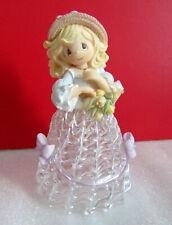Precious Moments Spring Belle Four Seasons Belles Spun Glass Bell Figurine