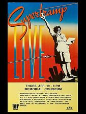 """Supertramp Vancouver 16"""" x 12"""" Photo Repro Concert Poster"""