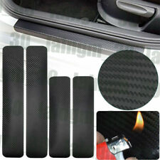 2pcs front+2pcs rear door sill scuff cover Car Door Plate Protect Car Sticker us