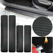 2pcs front+2pcs rear door sill scuff cover Car Door Plate Protect Car Sticker us