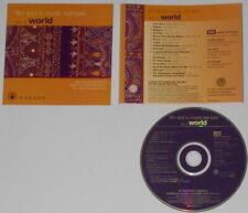 Susheela Raman, Lila Downs, Jesse Cook, John Whelan, Oscar Lopez - U.S. promo cd