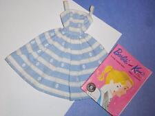 VINTAGE BARBIE ORIGINAL # 969 SUBURBAN SHOPPER DRESS NEAR MINT