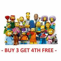 LEGO MINIFIGURES SIMPSONS SERIES 2 71009 PICK CHOOSE + BUY 3 GET 1 FREE