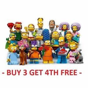 GENUINE LEGO MINIFIGURES SIMPSONS SERIES 2 71009 PICK CHOOSE + BUY 3 GET 1 FREE