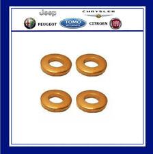 Peugeot & Citroen Genuine Injector Seals x4 1.4 HDI & 2.0 HDI 198196