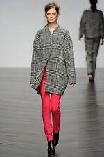 Beautiful Zoe Jordan Runaway Wool Tweed Blazer Coat Jacket M Medium