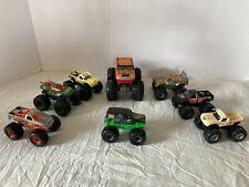 8 Hot Wheels Monster Jam Monster Trucks  Hummer 2  The Thing Grave Tuff Ninja