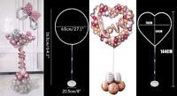 144CM Heart Balloon Stand Arch Frame Holder Wedding Valentine's Day Party Decor
