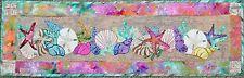 Seashells machine applique PDF pattern by Debora Konchinsky, Critter Pattern Wks