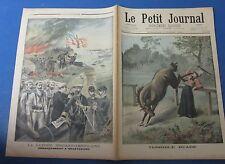 Le petit journal 1898 398 guerre hispano-américaine débarquement à guantanamo