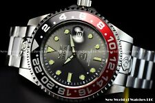 Invicta Men's 47mm Grand Diver Automatic Coke Bezel Charcoal Dial Silver Watch