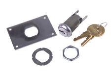 Metal Key Switch EZ Change Replace Lock Garage Door Overhead w/ Hardware DIY Kit