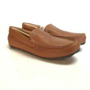Sperry Hampden Venetian Mens 10.5 M Loafers Driving Shoes Sahara Tan Leather NEW
