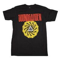 SOUNDGARDEN T-Shirt Badmotorfinger Logo Distressed Black New Authentic S-2XL