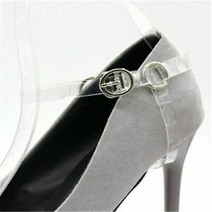 Detachable Leather Shoe Straps Laces Band For Holding Loose High Heeled Shoes