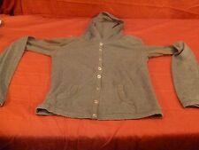 Coco Blue womens gray sz small hoodie shirt RB 11365