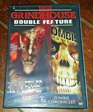 Grindhouse Double Feature: Horror - Evil Unleashed/Zombie Chronicles (DVD, 2007)