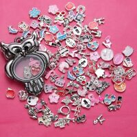 COOL! Free shipping!50pcs Floating Charm for Glass Living Memory Locket e50
