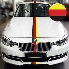 New 1M DIY German Flag 3 Color Car Waist Line Hood Vinyl Sticker Decal for BMW