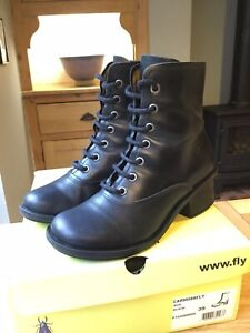 Fly London Black Boots Size 6