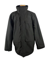 THE NORTH FACE Shell Wind Rain Jacket Coat Mens Size L Black Full Zip