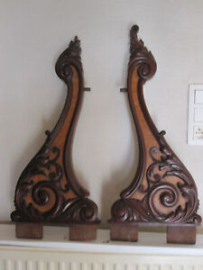 exceptionnal woodcarving  mahogany rosewood  louis phillippe period