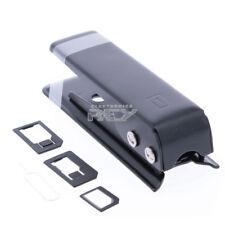 Cortador Negro de Tarjetas SIM a Nano SIM más Adaptadores y Llave  i121