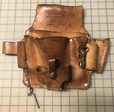 Oklahoma Leather Products Inc. OK500 Leather Electrician Tool Belt Pouch