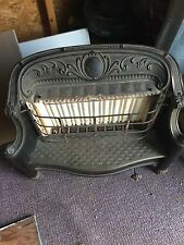 ANTIQUE Victorian Fireplace CAST IRON GAS Heater STOVE PARLOR Humphrey