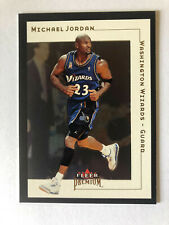 2001 Fleer Premium MICHAEL JORDAN  Mint  1st YEAR  WIZARDS  card - SEE PICS