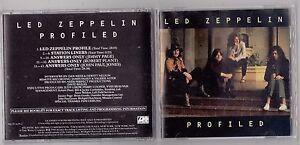 LED ZEPPELIN - PROFILED CD 1990 PRCD 3629-2 ATLANTIC