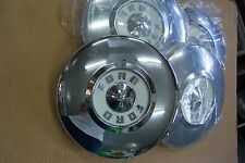 1956 Ford NEW Set of 4 Hubcaps - All Show Condition 56 Also 1956 Thunderbird