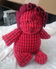 Jelly Cat First Steps Dinosaur DAPPY DINO Red Stuffed Plush Animal Lovey Toy