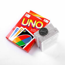 Travel Instruction Fun Kid Toy Standard 108 UNO Playing Cards Game Family Friend