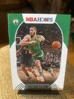 2020-21 Panini NBA Hoops Base #116 Jayson Tatum 2020-21 hoops jayson tatum