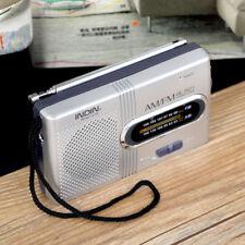 Mini ricevitore radio ricircolo portatile antenna telescopica portatile AM/FM WT