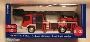 Siku 2106 - Mercedes Fire Engine Ladder - Ships from USA - NEW!