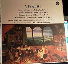 Vivaldi Concerto Grosso et al,  VOX PL 16.100 vintage mono, Rolf Reinhardt, NM