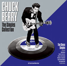 Chuck Berry The Singles Collection 3 LP White Vinyl 48 Greatest Hits Best of